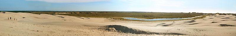 J'ai visité les dunes en 2007, mais cette photo n'est pas de moi.