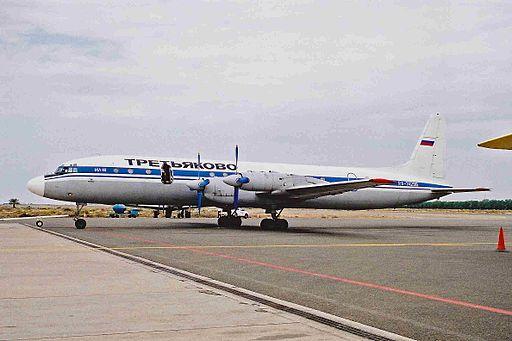 RA-74296 IL-18D Trietyakovo Air Tspt SHJ 21NOV00 (6959385873)