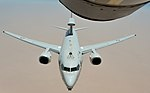 RAAF E-7A Wedgetail being refueled by a KC-135 during Operation Inherent Resolve (3).jpg