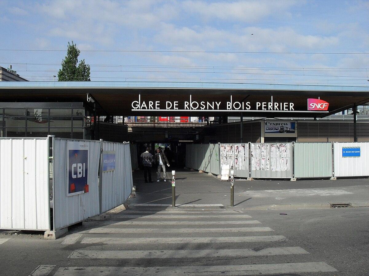 gare de rosny-bois-perrier — wikipédia