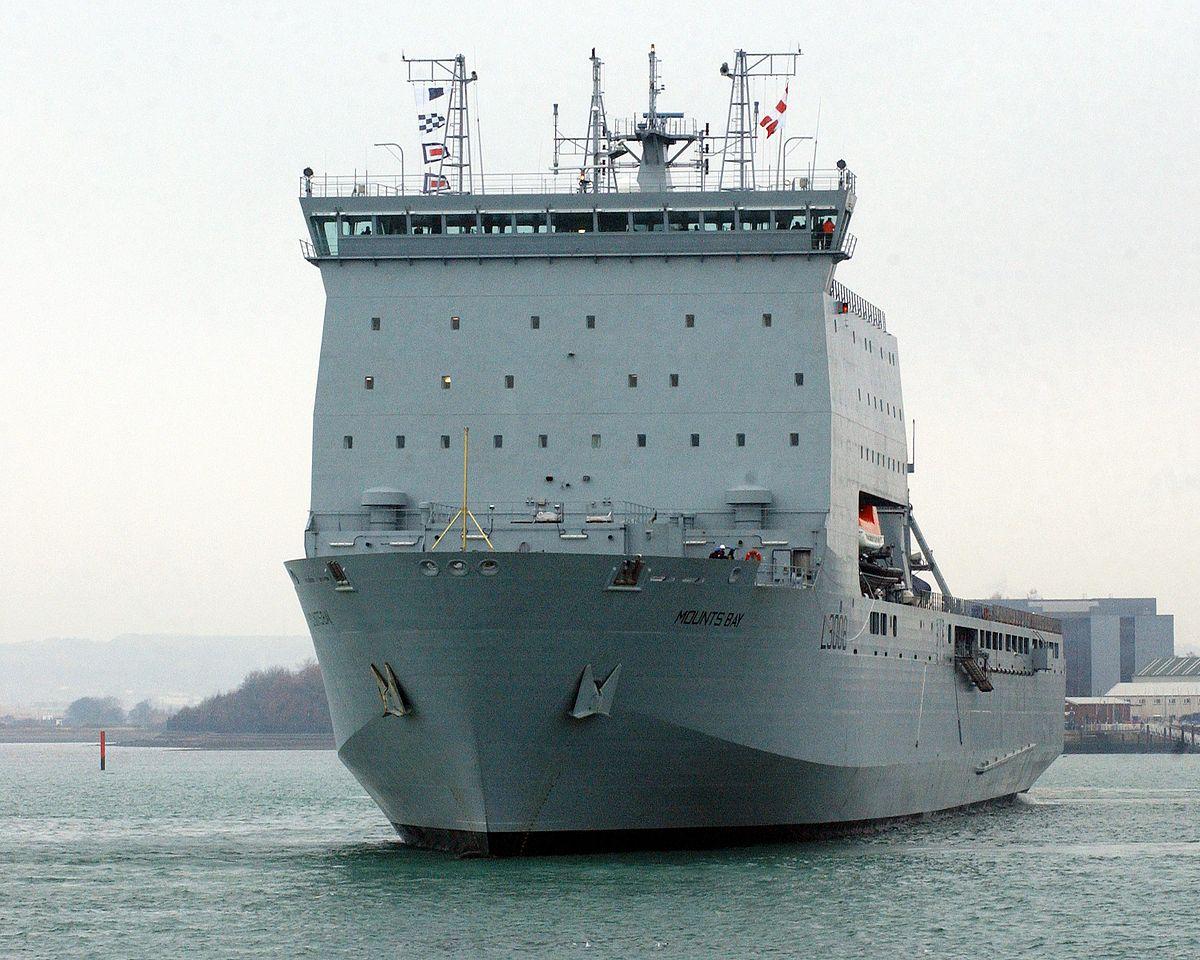 Bay-class landing ship - Wikipedia