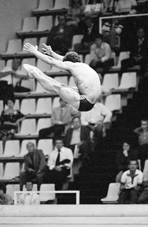 Carlos Girón - Carlos Girón at Olympic Games 1980