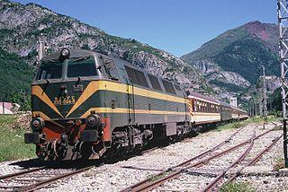 class of 93 Spanish diesel-electric locomotives