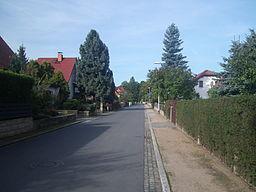Wahnsdorfer Weg in Radebeul
