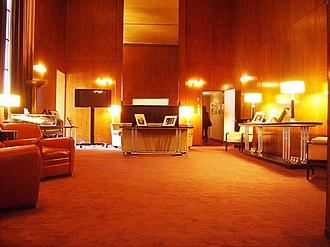 "Radio City Music Hall - VIP room (""The Roxy Suite"")"