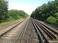 Railway to Pluckley, from Ashford - geograph.org.uk - 1428091.jpg
