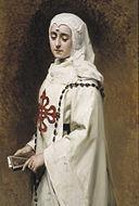 Raimundo de Madrazo. Retrato de María Guerrero en Doña Inés. 1891.jpg