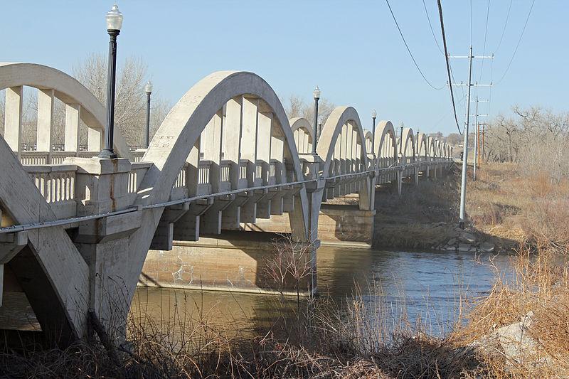 Fort Morgan (CO) United States  City pictures : Description Rainbow Arch Bridge Fort Morgan, Colorado