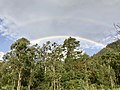 Rainbow over Main Range National Park in Tarome, Queensland.jpg