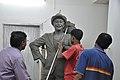 Raj Kapoor Statue In Progress - Kolkata 2017-08-08 4200.JPG