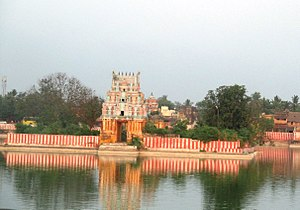 Mannargudi - Haridra Nadhi - the temple tank in Mannargudi and one of the largest temple tanks in the state