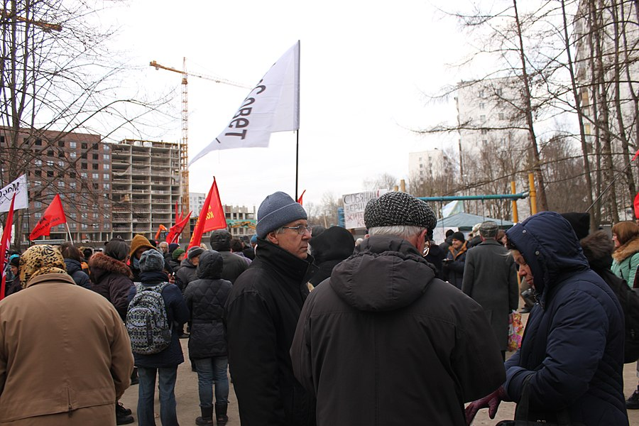 Rally for the termination of construction and restoration of the square (2018;11;17) 58.jpg