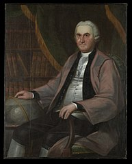 Reverend Nehemiah Strong (1728/29-1807), B.A. 1755, M.A. 1758