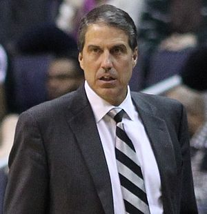 Randy Wittman - Wittman in 2011 as Wizards assistant coach