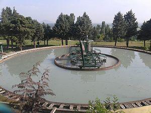 Rangil water treatment plant - Rangil water treatment plant flocculator
