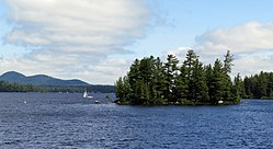 Raquette Lake in Long Lake and Arietta, both in Hamilton County, New York.JPG