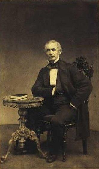 Rasmus Carl Staeger - Rasmus Carl Stæger 1861 by Rudolph Striegler
