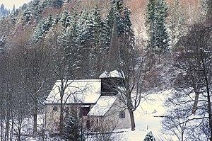 St. Oswald's Chapel (Höllental) - St. Oswald in winter