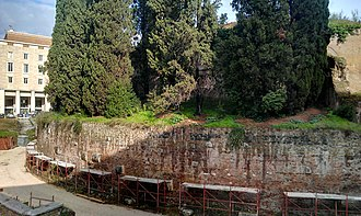 Mausoleum of Augustus - Rear of the mausoleum