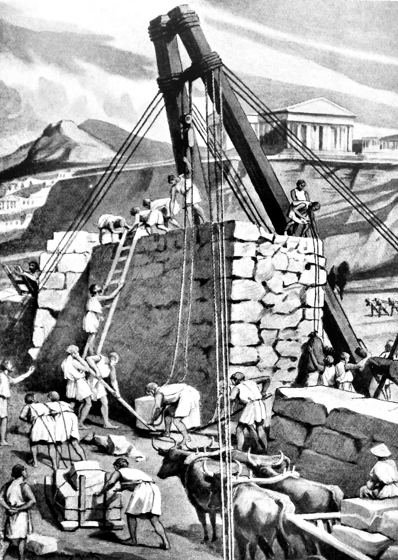 Rebuilding the walls of Athens 393 BCE