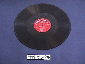Timeline of audio formats - 78rpm record - playable on modern turntables