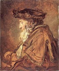 Rembrandt Oil Sketch of an Old Man.jpg