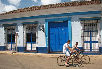 Remedios, Cuba - Colonial house in Remedios