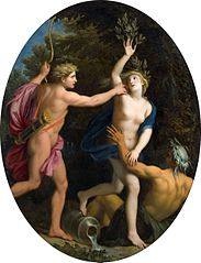Apollo pursuing Daphne
