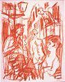 René Beeh, Projet pour Inferno de Strindberg, Sackgasse.jpg