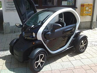 Neighborhood Electric Vehicle - The Renault Twizy was launched in Europe in 2012 and it is classified as a heavy quadricycle.