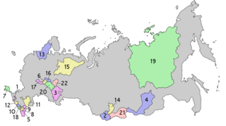 Republics of Russia Constituent units of the Russian Federation