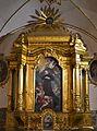 Retaule dedicat a Estanislau Kostka, capella fonda, església de sant Pau, institut Lluís Vives de València.JPG