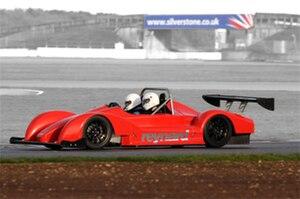 Reynard Motorsport - The new Reynard car being tested at Silverstone.