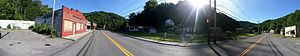 Rhodell, West Virginia - Image: Rhodell, West Virginia panorama