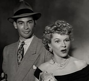 Borderline (1950 film) - Richard Irving and Claire Trevor