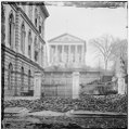 Richmond, Va. Custom House (left) and Capitol (center); rubble in street LOC cwpb.02889.tif