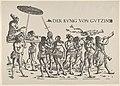 Right Side of King Cochin, from Set of Exotic Races, in Holzschnitte alter Meister gedruckt von den Originalstöcken der Sammlung Derschau im besitz des Staatlichen Kupferstich-kabinetts zu Berlin MET DP834166.jpg