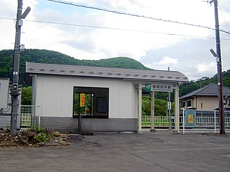 Rikuzen-Shirasawa Station - Rikuzen-Shirasawa Station in May 2005