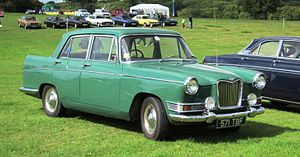 Riley 4 - Riley 4 / Seventy Two sports saloon 1622cc first registered May 1963