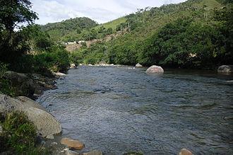 Zamora, Ecuador - Bombuscaro River area of Las Ballenas, January 23, 2011