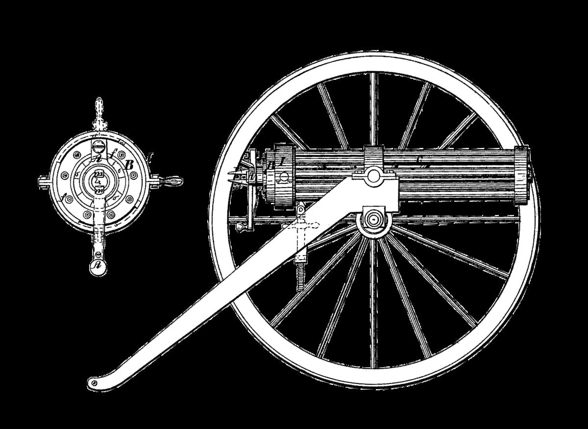 La fabuleuse histoire de la Gatling 1200px-Ripley_gun_patent_img