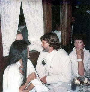 Rita Coolidge - Coolidge with Kris Kristofferson at the private party after the premiere of the movie A Star Is Born, on the third floor of Dillon's Disco on December 18, 1976.