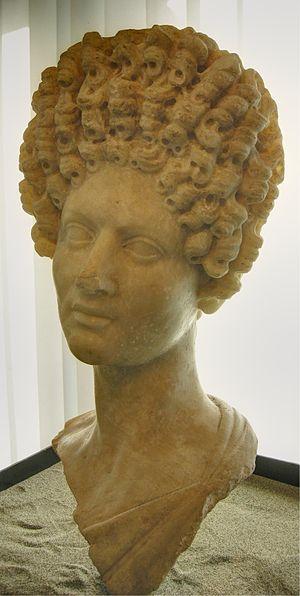 Matidia Minor - Portrait of Vibia Matidia, Museo Archeologico di Fiesole.