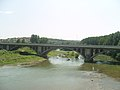Road bridge in front of Byala Bridge.jpg