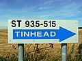 Road sign near Bratton - geograph.org.uk - 524313.jpg