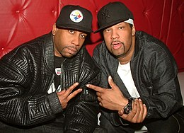 Rob Base and DJ EZ Rock in 2006.jpg