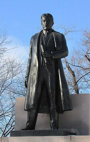 Frances Loring - Image: Robert Borden, statue