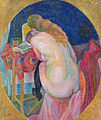 Robert Delaunay - Nude woman reading - Google Art Project.jpg
