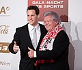 Robert Gardos Johann Friedinger Gala Nacht des Sports Österreich 2015.jpg