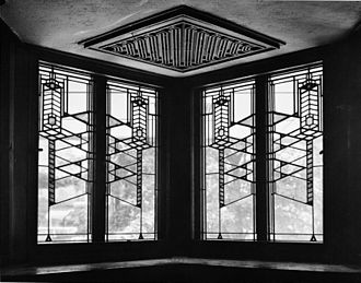 Robie House - Interior window detail (1963)